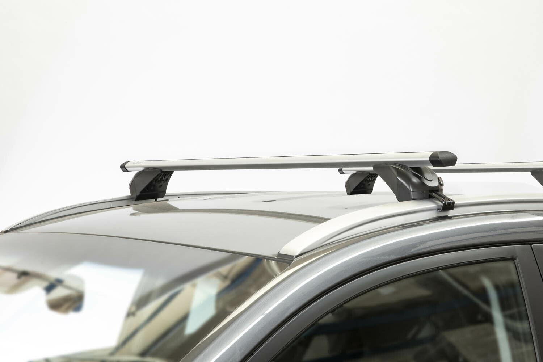 Dachbox MAA320L weißDachträger KING2 für Ford Galaxy III 5Tür ab 15
