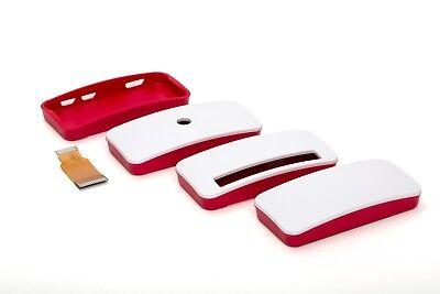 offizielles Gehäuse für Raspberry Pi Zero W 1.3 rot/weiß Official Case