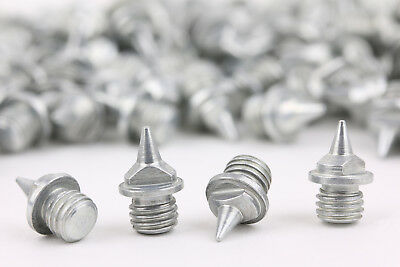 100 Ersatznägel für Spikes 6 mm - Spitzen - Leichtathletik - Spikesnägel Dornen