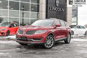 2016 Lincoln MKX RESERVE - HEATED/COOLED SEATS - BLUETOOTH