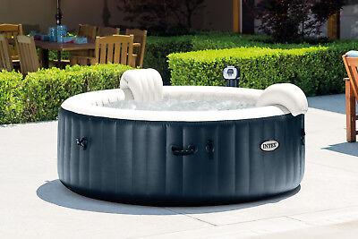Intex Pure Spa 6 Person Inflatable Portable Heated Bubble Hot Tub Model 28409E