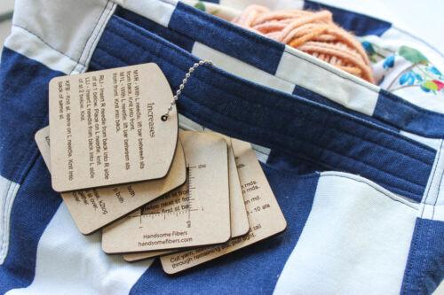 Mini Knitting Tools Styles 1 & 2 Keychains
