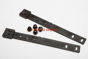 2x-OWB-Black-MOLLE-Malice-Clips-Mounting-Hardware-Kydex-Holster-HSGI-Battle-Belt
