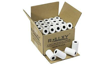 Verifone Vx520 2 14 X 50 Thermal Receipt Paper-50 Rolls Free Shipping