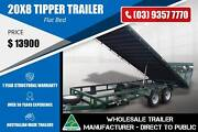 20x8 - 3.2 Tonne Tipper Trailer Flat Bed Epping Whittlesea Area Preview
