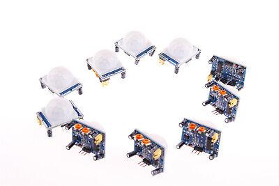 Detector Sensor Module 10pcs Hc-sr501 Diy Pir Ir Passive Infrared Motion
