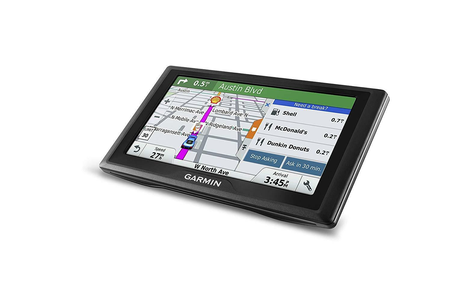 Garmin Drive 60LM Auto GPS with Lifetime Continental US Maps & 6