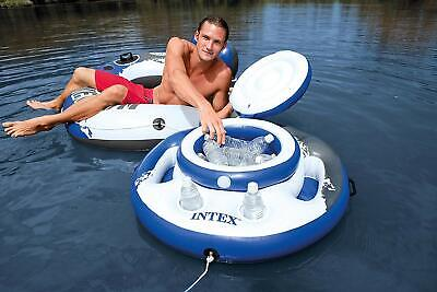 Intex 56822NP Fridge Floating Inflatable Mega Chill 35in 5 Aerobar or Glasses