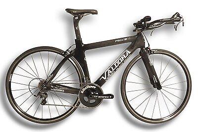 Valdora PHX2 6800 TT Tri Bike Carbon Triathlon Time Trial Frame Small (53-55 cm)