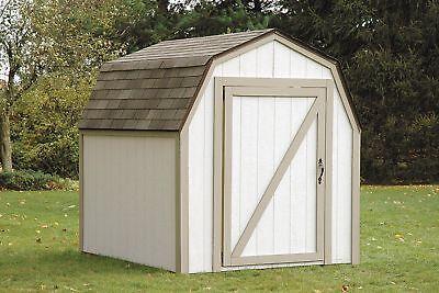 Heavy Duty DIY Craftsman Dirt Bike Garage Storage Fairy Garden Outdoor Shed Kit