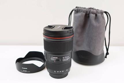 Canon EF 16-35mm F4 L IS USM Lens for 5D 6D 5DS 1DX ~Excel Cond