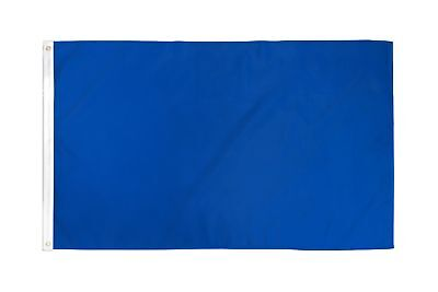 2x3 Royal Blue Solid Color 210D 2'x3' Knitted Poly Nylon DuraFlag Banner (FI)
