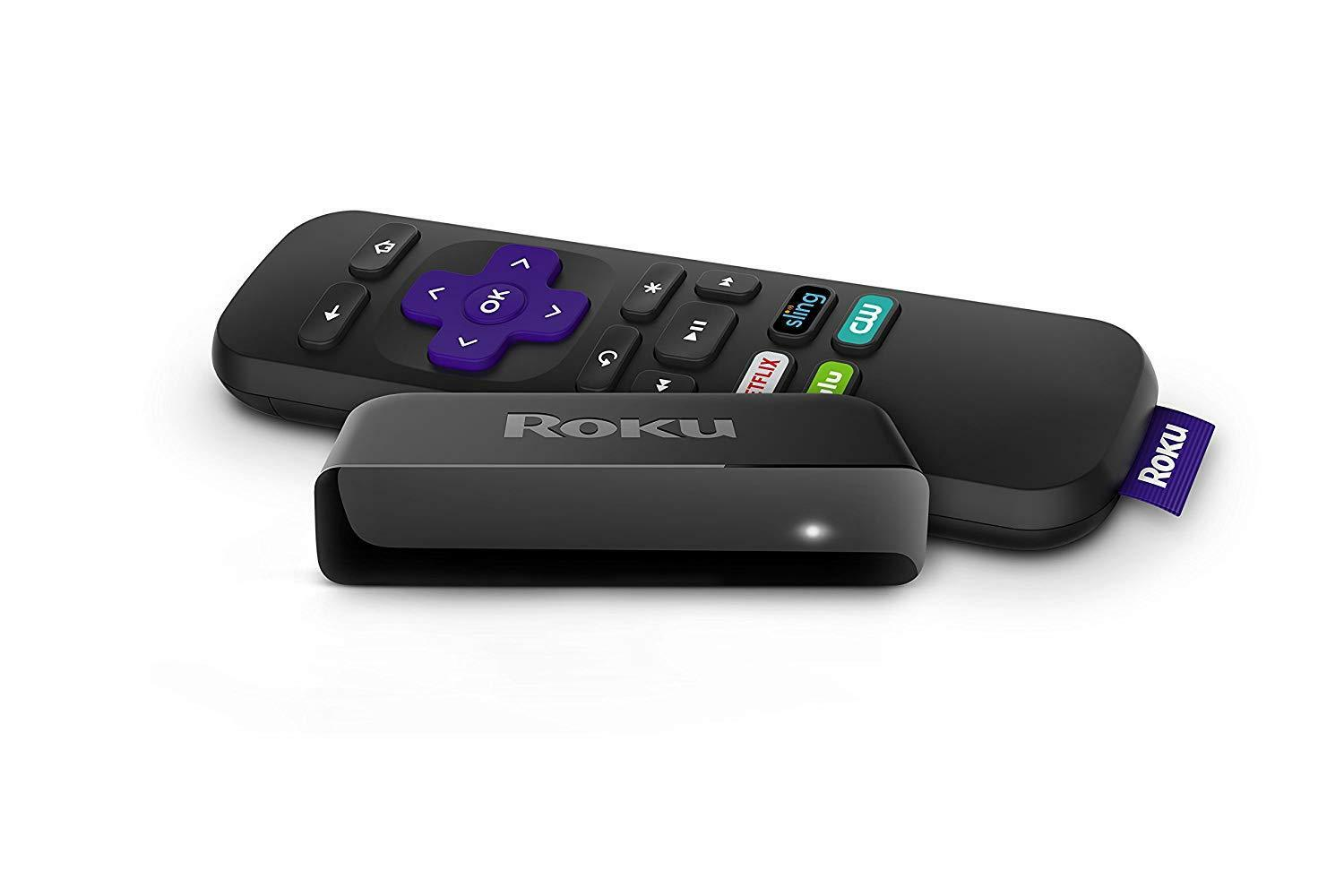 Roku Express | HD Streaming Media Player, incl. HDMI cable (2019/latest model) Consumer Electronics