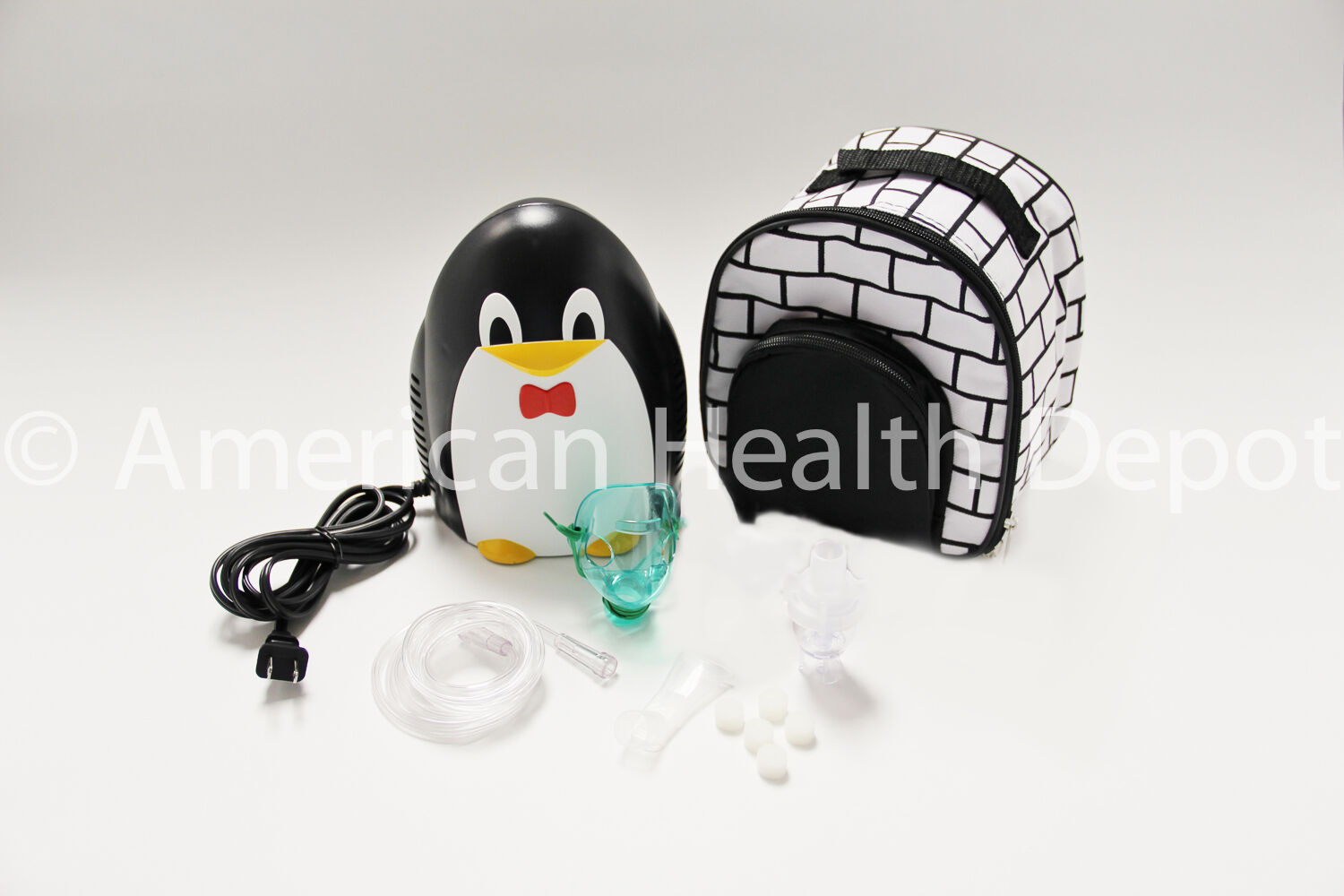 Child Pediatric Nebulizer Aerosol Compressor With Kit Tre...