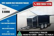 10x6 - 2.8 Tonne - Fully Enclosed Trailer Epping Whittlesea Area Preview
