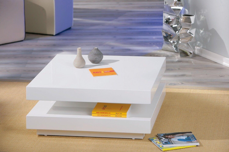 couchtisch wei hochglanz wohnzimmertisch wohnzimmer tisch design modern 75x75 eur 149 60. Black Bedroom Furniture Sets. Home Design Ideas