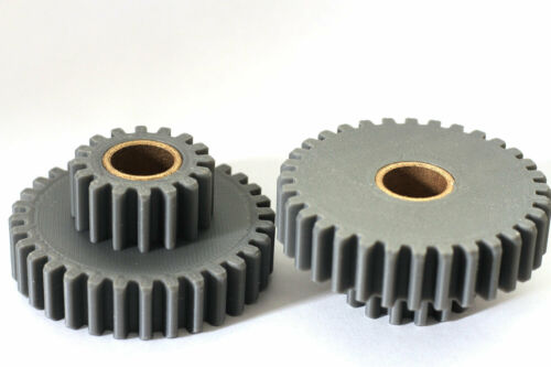 """Atlas 10F 10"""" 32-16 tooth compound gear -3d printed-"""