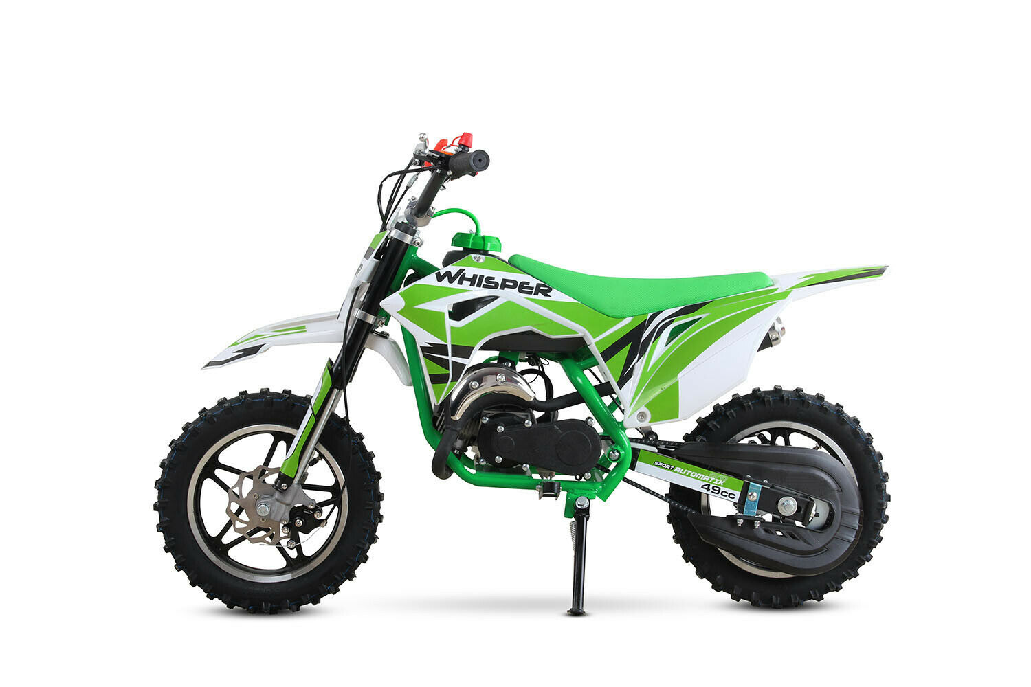 Nitro Motors Dirtbike 49cc Whisper Rennbike Dirtbike Minibike Crossbike Pocket