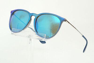Ray-Ban Erika Color Mix Sunglasses (Blue and Silver/Blue (Ray Ban Colored Mirrored Sunglasses)