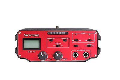 Saramonic Bmcc-a01 2 Ch Xlr Microphone Audio Mixer For Bl...