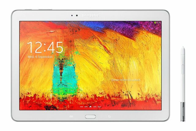 """Samsung Galaxy Note SM-P600 Tablet 10.1"""" WiFi 3GB Ram with Stylus PEN  White UK"""