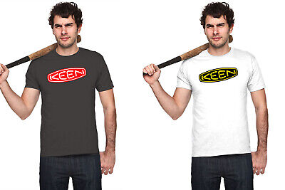 Boots White T-shirt - KEEN BOOTS LOGO men black white t-shirt graphic tee short sleeve personalized