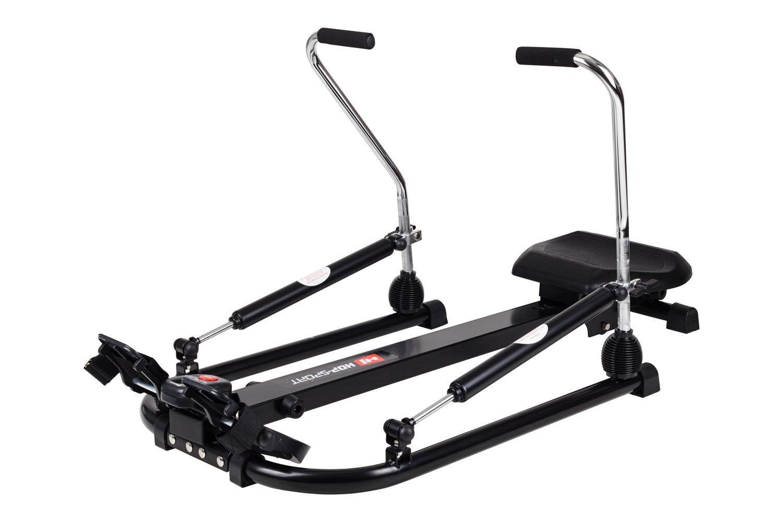 Rudergerät GLIDE Rudermaschine Heimtrainer Fitnessgerät mit Computer