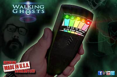 Genuine K2 EMF Meter Black, Ghost Hunting Paranormal Equipment K-II /KII /UK