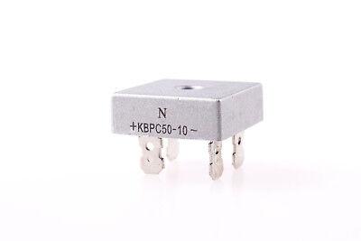 1pcs 50a 1000v Single Phases Diode Bridge Rectifier Kbpc5010