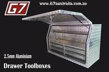 Aluminium Toolboxes with 2,4,5 Drawer options Ute truck tool box Brisbane City Brisbane North West Preview