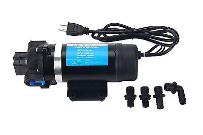 High Quality Ac 110v Self Priming Water Pressure Pump For Caravanrvboatmarine