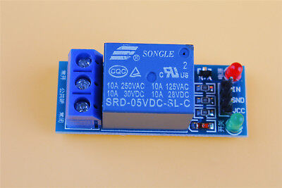 One 1 Channel Relay Module Shield 5v Control 250v 10a Optocoupler For Arduino
