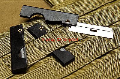 5X Ifak First Aid Medic Gear Scalpels Edc Compact Folding Edc Sere Razor Blades