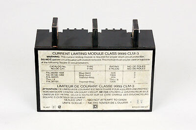 Square D 9999clm-3 Current Limiting Module