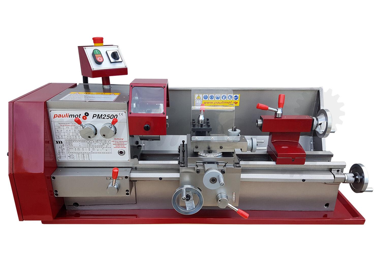 PAULIMOT Drehbank / Drehmaschine PM2500 mit 400 Volt Motor
