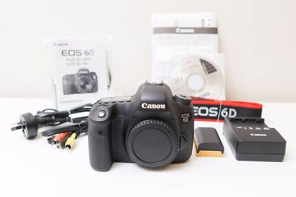 Canon EOS 6D Camera & 35-80mm F4-5.6 III Lens Low Shutter Count