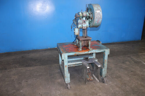 3 Ton All Canada Engineering OBI Power Punch Press Metal Hole Stamping