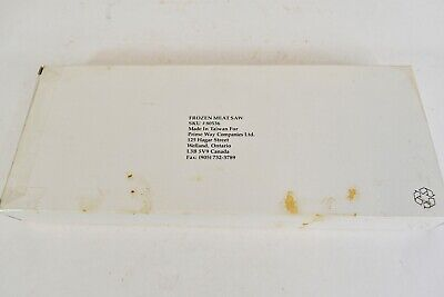 Prime Way Companies Ltd Canada Frozen Meat Saw With White Handle 80536 New