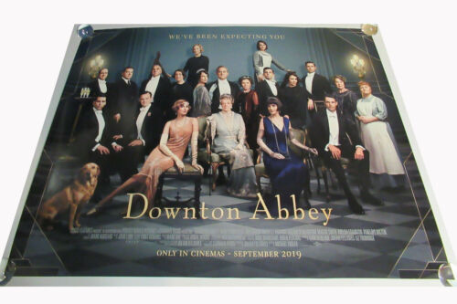 Downton Abbey movie UK quad poster ORIGINAL D/S full size