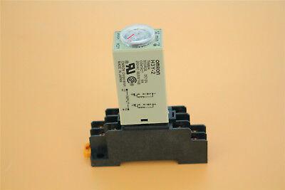 H3y-2 Delay Dc 12v 0-3m Minute Timer Time Relay Base Socket