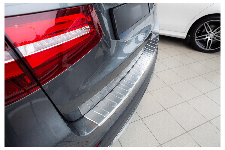 Ladekantenschutz Edelstahl mit Abkantung Chrom Für Mercedes Benz GLC X253 2015