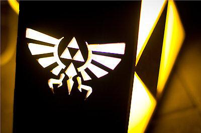 Zelda Triforce Lamp MINI - HYRULE LOGO