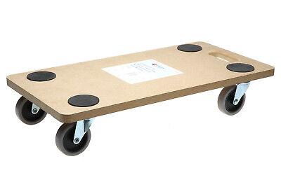 1 Stück Rollbrett Softrollen TPR Transportroller Möbelroller 200kg  58x30x12 cm
