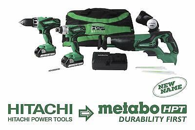 Metabo-HPT KC18DG4LS 18V Cordless 4-Tool Combo Kit