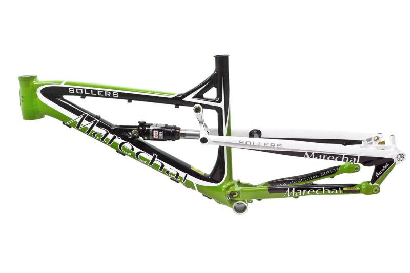 "Marechal Sollers Full-Suspension AM/Enduro Bicycle Bike Frame 27.5"" Green"