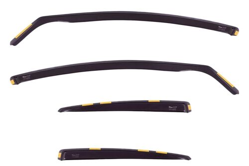 HEKO 30002 - LEXUS GS 300 II 4doors, 1998-2005 - 4 wind deflectors front/rear