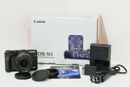 *NEW* Canon EOS M3 24MP Digital Mirrorless Camera + 18-55mm Lens