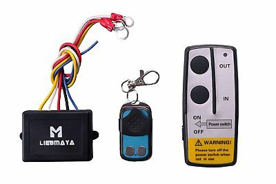 LIEBMAYA Wireless Remote Control Kit for Truck Jeep ATV Winch 12V