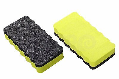 Magnetic Eraser Whiteboard Dry Erase Board Marker Felt Random Color