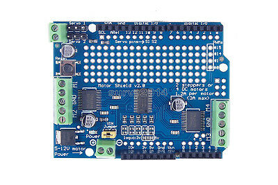 Motorstepperservorobot Shield For Arduino I2c V2 Kit W Pwm Driver Top